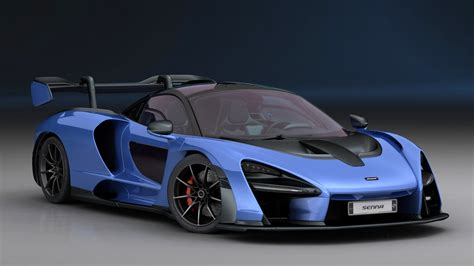 2019 Mclaren Models by Mclaren Senna 2019 Interior Model Turbosquid 1340571