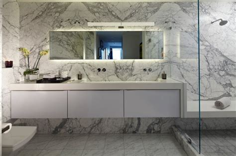 bathroom tile ideas 10 spectacular rooms with marble walls