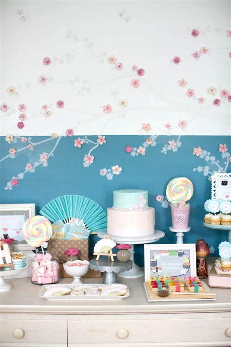 Kara's Party Ideas Japanese Sushi Chef Birthday Party