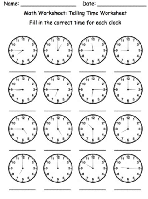 72 best images about learning to tell time on