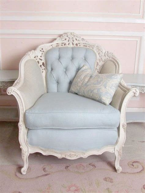 shabby chic armchair shabby chic pale blue armchair palest of blue pinterest