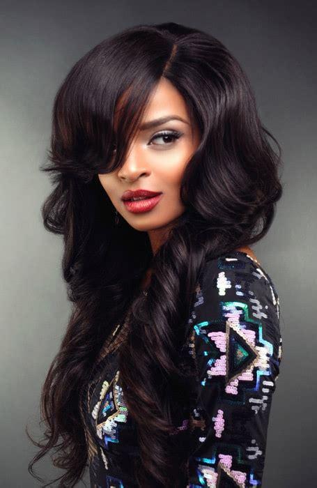 Sew In Hairstyles Pictures by Multi Colored Sew In Weave