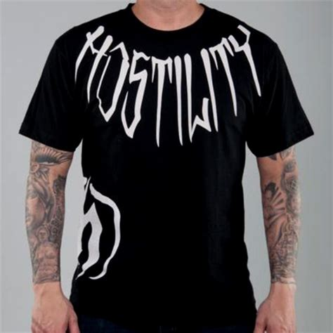 hostility t shirts fighterxfashion