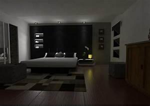 Bilder Für Schlafzimmer Wand : schwarze wandfarbe f r schlafzimmer 30 bilder ~ Sanjose-hotels-ca.com Haus und Dekorationen