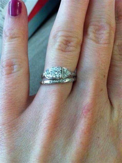 vintage engagement ring weddingbee vintage ring weddingbee