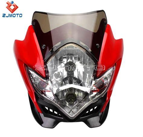 zjmoto streetfighter motorcycle headlight gsxr bandit