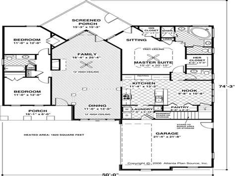 Idea Small House Floor Plans Under 1000 Sq Ft