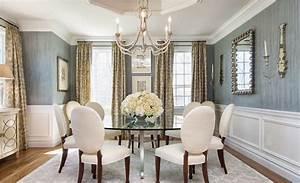 Decor magnifique pour une salle a manger feng shui la for Table ronde salle a manger en verre pour deco cuisine
