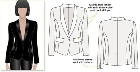 Bronnie Tuxedo Jacket