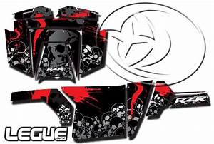 polaris rzr graphics wrap 800900xprzr4570 black skull With kitchen cabinets lowes with polaris rzr stickers