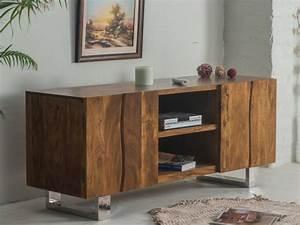Holz Tv Möbel : tv m bel holz massiv tusty g nstig i kauf ~ Markanthonyermac.com Haus und Dekorationen