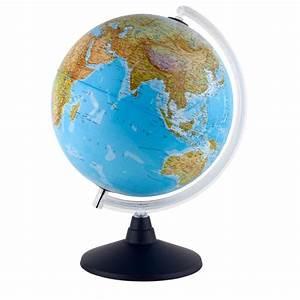 Globus Als Lampe : idena leuchtglobus 30 cm mit halogen energiesparlampe auch im set mit schreibunterlage ~ Markanthonyermac.com Haus und Dekorationen
