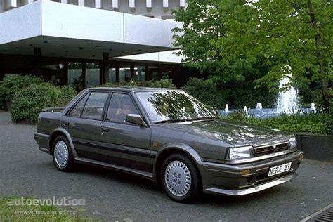 NISSAN Bluebird Sedan specs - 1986, 1987, 1988, 1989, 1990 ...
