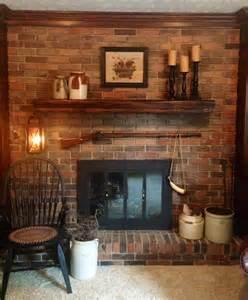 primitive fireplace primitive country decor