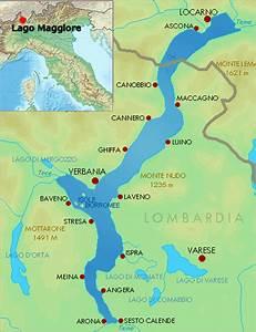 Italienische Schweiz Karte : der lago maggiore zwischen italien und der schweiz ~ Markanthonyermac.com Haus und Dekorationen