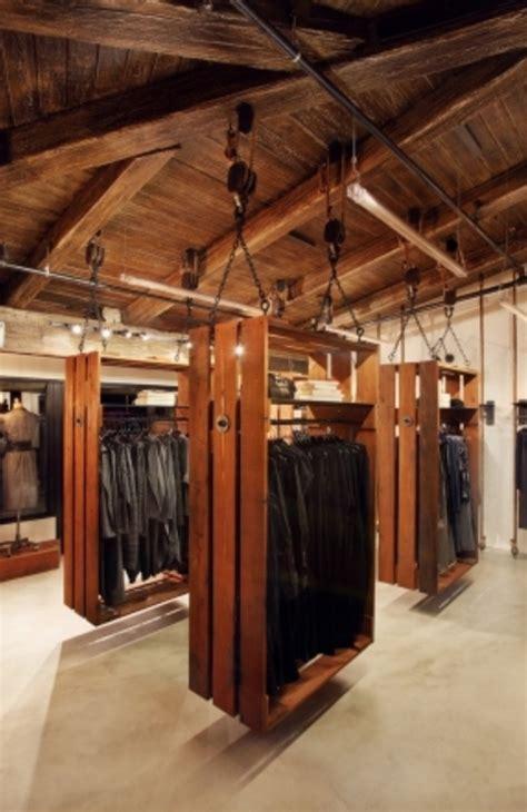 the racks boutique retail clothing display ideas studio design gallery