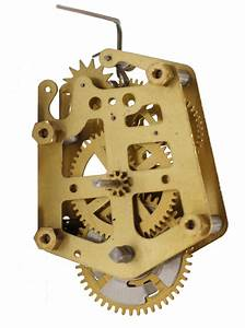 New Novelty German Mini Cuckoo Movement Clock Kit With