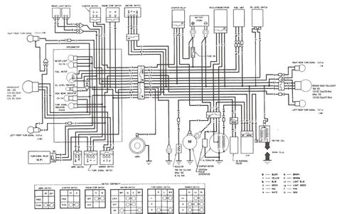 honda vt500 wiring diagram honda wiring diagram