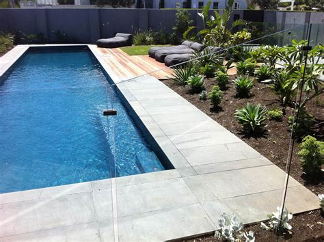 swimming pool surroundings pool landscaping construction geelong ausscapes
