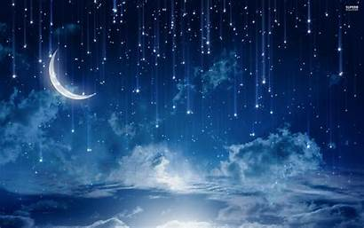 Stars Sky Night Wallpapers Falling Star Desktop