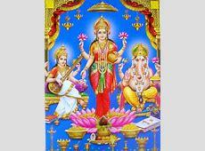 Free coloring pages of laxmi ganesh saraswati