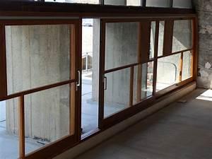 Baie Vitree Coulissante : baie vitr e coulissante marseille menuiserie bois ~ Dallasstarsshop.com Idées de Décoration