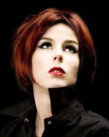 Short Red Hair Color and Hairstyles