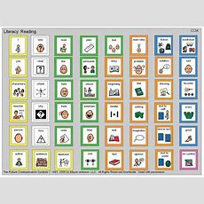 Literacyreading Communication Board  Aac Topic Based  Pinterest  Literature, Reading And