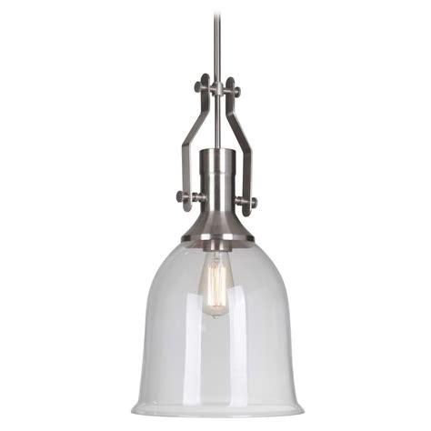 brushed nickel pendant light farmhouse industrial pendant light brushed nickel by