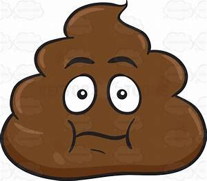 A Pile Of Poo Caught In Surprise  U2013 Clipart By Vector Toons