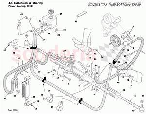 Aston Martin Db7 Vantage Power Steering Parts