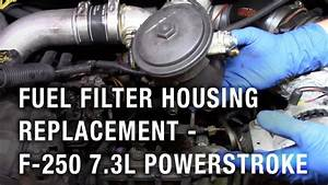 Fuel Filter Housing Replacement