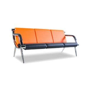Sofa Waiting Room by 3 Seat Office Reception Chair Pu Leather Waiting Room
