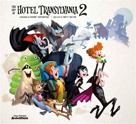 art book review the art of hotel transylvania 2 rotoscopers