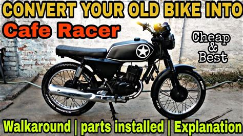 Total Modification by Cheap Cafe Racer Project Suzuki Max100 Total