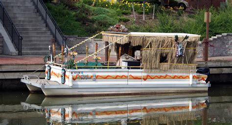 Tiki Bar Boat by The Tacky Tiki Boat