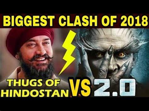 Robot 20 Vs Thugs Of Hindostan, Aamir Khan And Rajnikanth