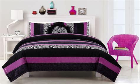 black  purple comforter sets full size bedroom sets