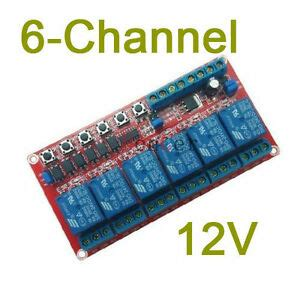 Channel Latching Relay Module Switch Controls The