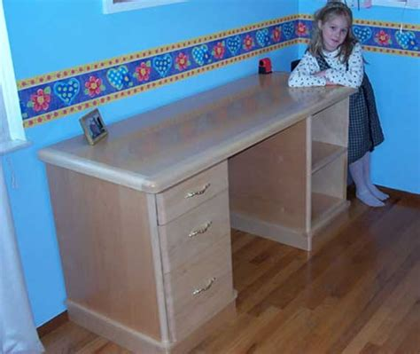 wood  desk plans blueprints  diy