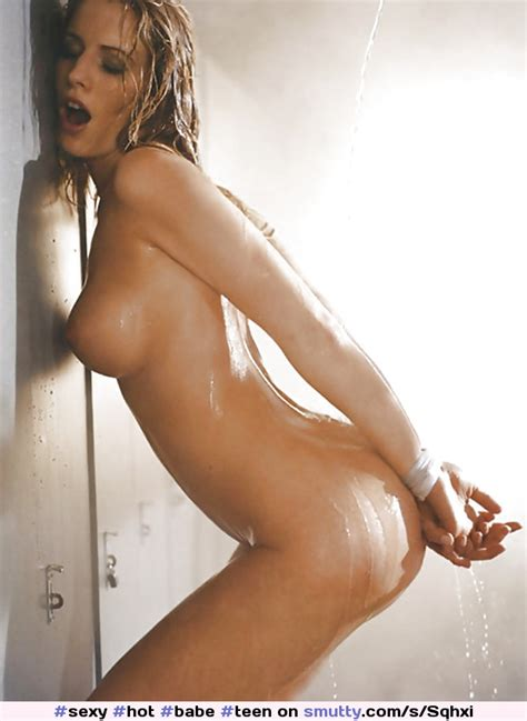 Sexy Hot Babe Teen Shower Wet Nude Tied Naked