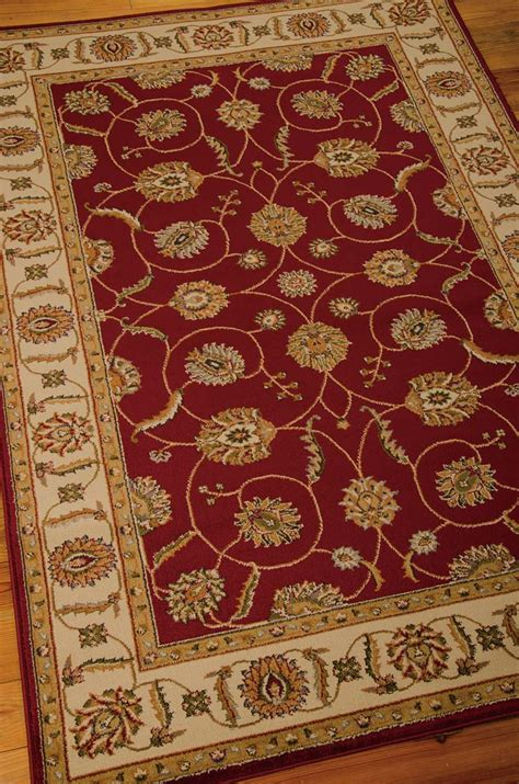 nourison paramount par red rug