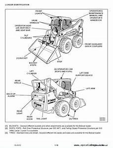 Bobcat S750 Skid