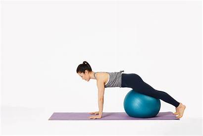 Pike Ball Exercise Pilates Ben Fill