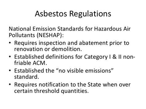 asbestos awareness training  bie nmnca