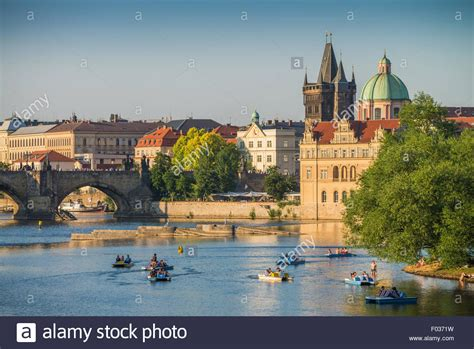 Paddle Boats Prague by In Car Shaped Paddle Boats In Vltava River With