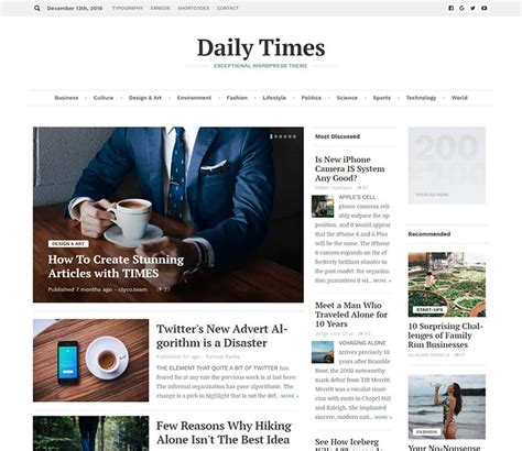 Newspaper Themes 11 Best Newspaper Themes For 2018 Siteturner