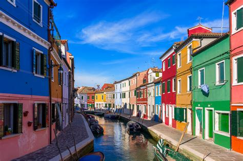 Lovely and colorful Burano, Venice (Italy)