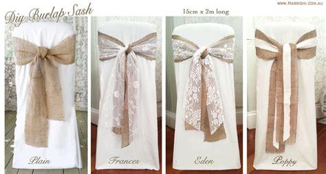 chair covers wedding jute bow recherche google f 234 te