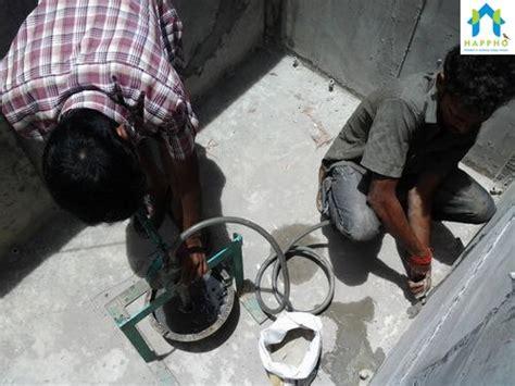 properly  waterproofing  toilet  utility